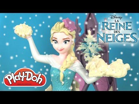 Play Doh Elsa la Reine des Neiges Palais de Glace Magique Pâte à modeler