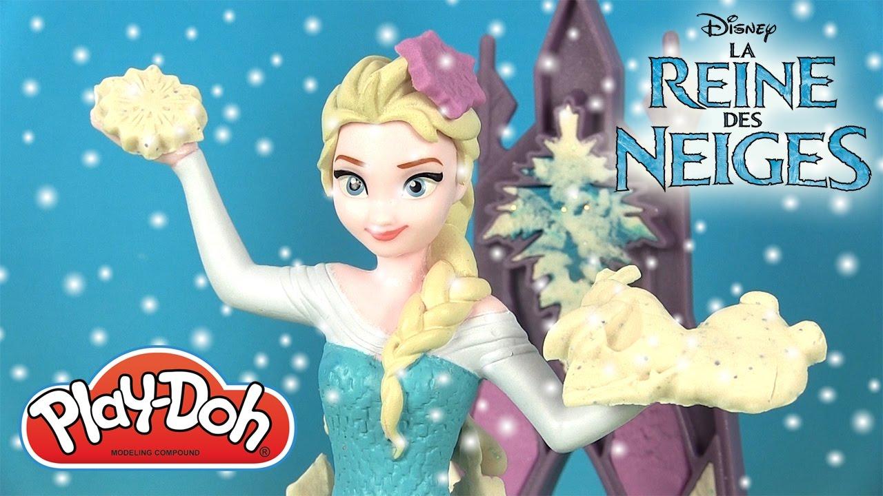 Play doh elsa la reine des neiges palais de glace magique - Palais de glace reine des neiges ...