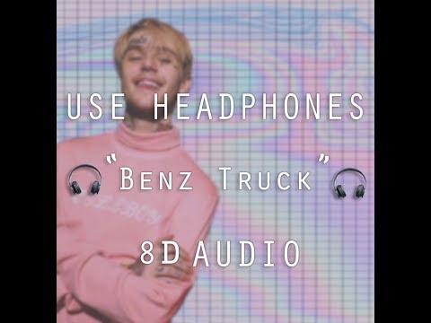 Lil Peep -  Benz Truck ( 8D AUDIO )