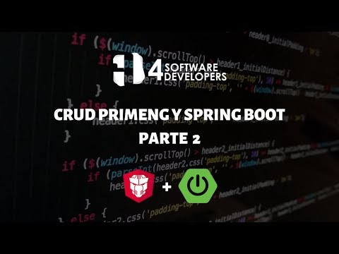Consumiendo CRUD API Rest Angular - PrimeNG Parte 2 | 4SoftwareDevelopers thumbnail