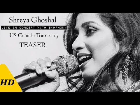 Shreya Ghoshal Live With Symphony - US Canada Tour 2017 Teaser