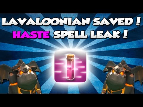 Clash Of Clans Haste Spell Leak!