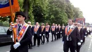 Orange Parade Perth 26th June 2010 Evening March