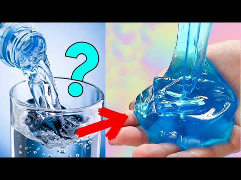 Real!! 5 Ways No Glue Slime,💧 5 No Glue Slime Recipes, No Glue, No Borax, No Cornstarch top 5