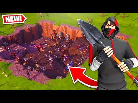 ON CREUSE LE NOUVEAU CHANTIER DE LOOT LAKE SUR FORTNITE !!