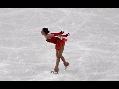 2018 平昌 PyeongChang Alina Zagitova Figure Skating Team Women's Single Free