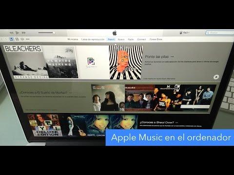 Cómo usar Apple Music en un Mac o PC Windows