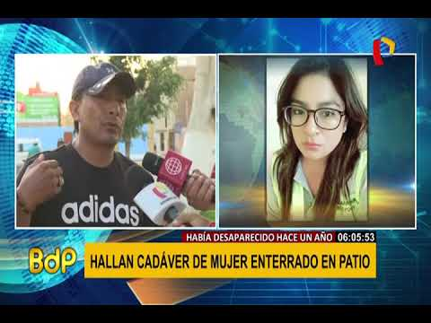 Pisco: encuentran cuerpo de mujer que hab�a sido reportada como desaparecida hace un a�o