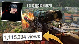 this BO4 trickshot got over 1 MILLION VIEWS.. (Reacting To YOUR Clips #1)