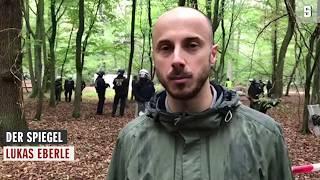 Hambacher Forst: Polizei geht gegen Waldbesetzer vor