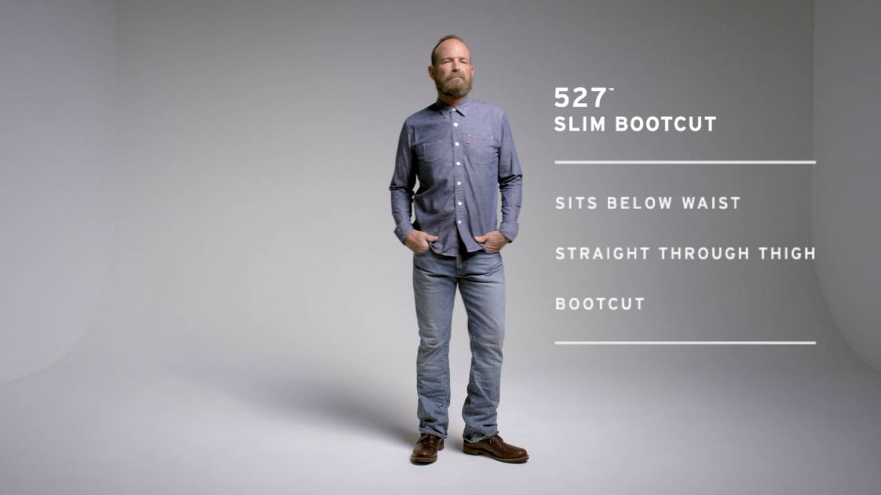 b07ff172 Men's 527 slim bootcut - YouTube