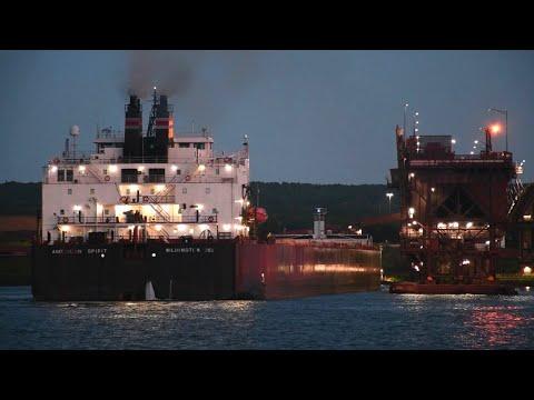American Spirit - Slipping Into Two Harbors Before Sunrise