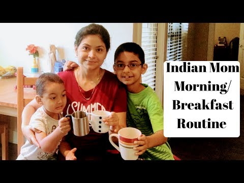 Indian Mom Morning Breakfast Routine l What I eat for Breakfast l ReallIfe Realhome