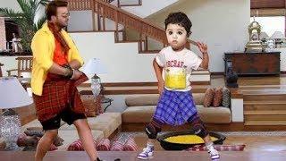 Download Video মামা ম্যাও ম্যাও গান এ এবার একসাথে নাচলেন বাবা শাকিব খান ও ছেলে জয়। MP3 3GP MP4