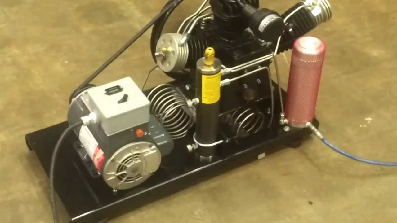 Airetex 45 Portable High Pressure Compressor Youtube