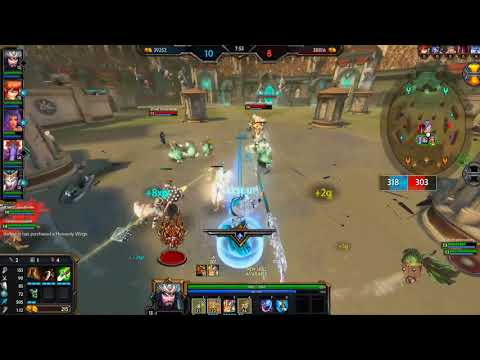 FASTEST GOD IN THE GAME!!! SMITE S5: Guan Yu in arena  2018 (PC)