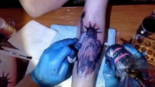 Татуировка 'Статуя свободы'