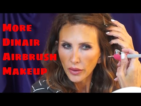 dinair-airbrush-foundation-round-2-charleston-makeup-artist