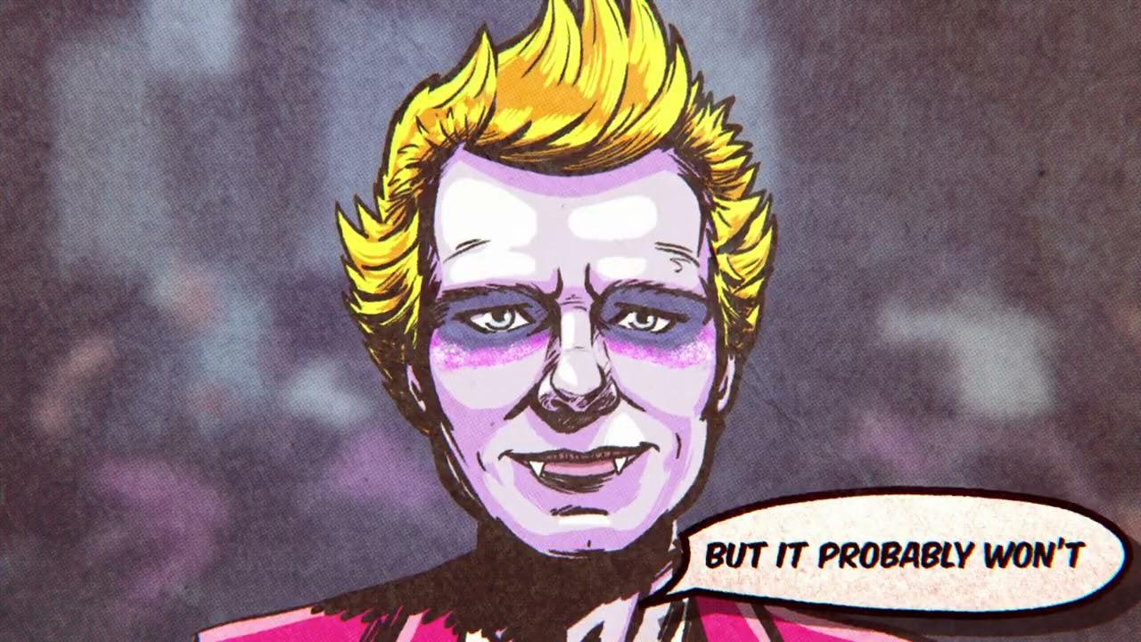 Download Ed Sheeran - Bad Habits (Comic Book Video)