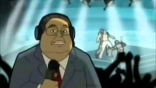 Santo VS Los Clones COMPLETA (dibujos animados Netwrk de la serie)