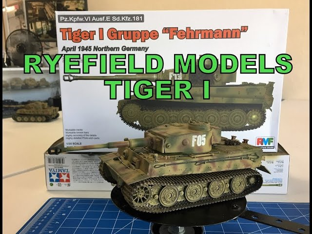 Building the Ryefield Models 1/35 Tiger I with Friulmodel tracks,