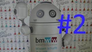 Австрия #148: Robot Challenge Vienna 2015 - robots battle// битва роботов - часть 2