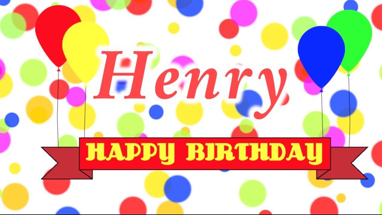 happy birthday henry Happy Birthday Henry Song   YouTube happy birthday henry