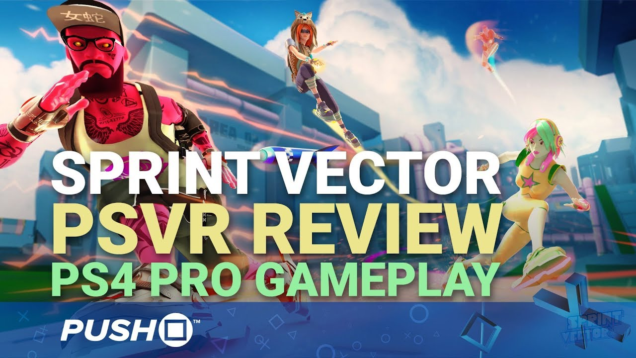 Sprint Vector PSVR Gameplay Footage: Review and Impressions