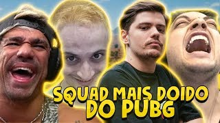 SQUAD MAIS DOIDO DO PUBG ft. Dilera, Netenho e Skipnho