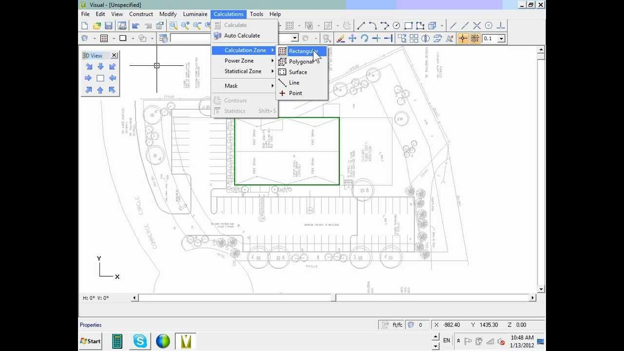 Commercial Lighting Calculation Visual Software Parking Lot 01 13 12.wmv Design Ideas