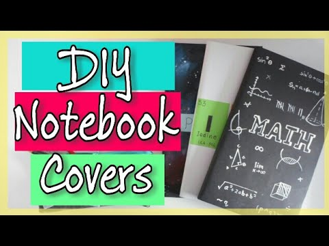 Diy Notebook Cover Ideas I Back To School Get Creative With Me