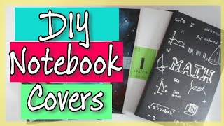 DIY Notebook Cover Ideas I Back to School | Get Creative With Me !