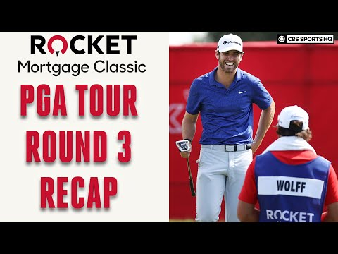PGA Tour Rocket Morgage Classic Round 3 Recap; Matthew Wolff Surges To Lead | CBS Sports HQ