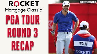 PGA Tour Rocket Morgage Classic Round 3 Recap; Matthew Wolff Surges To Lead | CBS Sports HQ