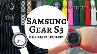 Samsung Gear S3 Review - Everything You MUST Know Before Buying! (HD)