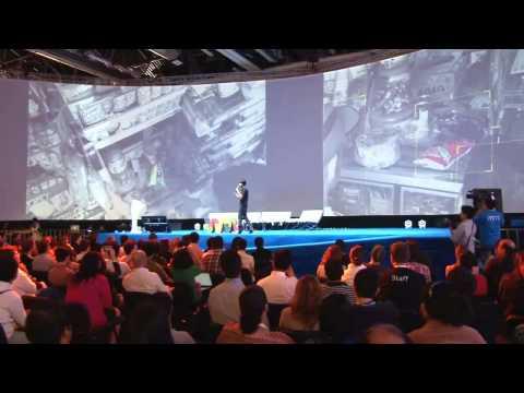 Felipe Lara presenta RetailSights en Campus Party Mexico