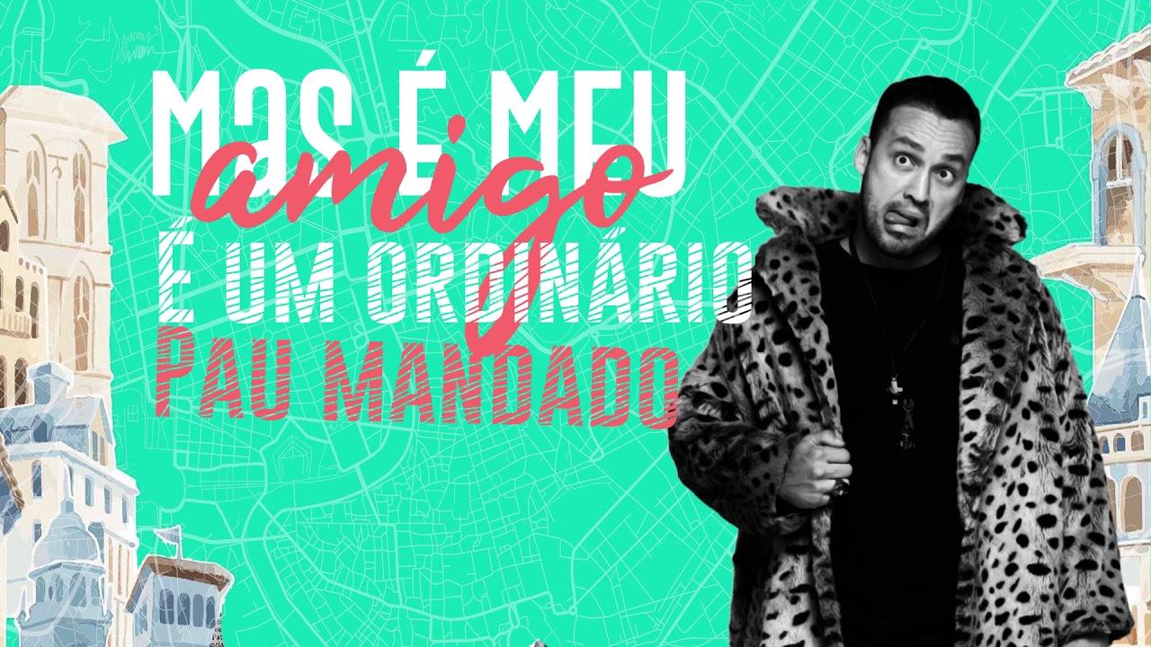 Rodrigo Andrade - São Meus Amigos (Lyric Vídeo)