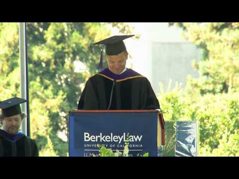 Berkeley Law Graduation Ceremony, July 26th, 2016
