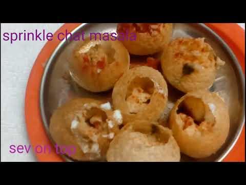 Dahi Puri/chat Dish