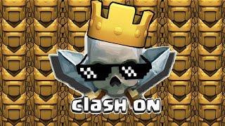 Clash of clans/ Jugoso botin de 1.000.000 (CLICKBAIT) XD