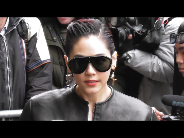 Araya Hargate อารยา อัลเบอร์ต้า ฮาร์เก็ต Chompoo @ Paris 23 january 2019 Fashion Week show Gaultier