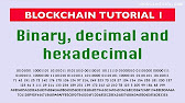 Blockchain tutorial 11: Elliptic Curve key pair generation - YouTube