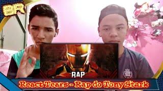 #React - Rap do Tony Stark (Homem de Ferro) - PERDIDO NO ESPAÇO • Tears