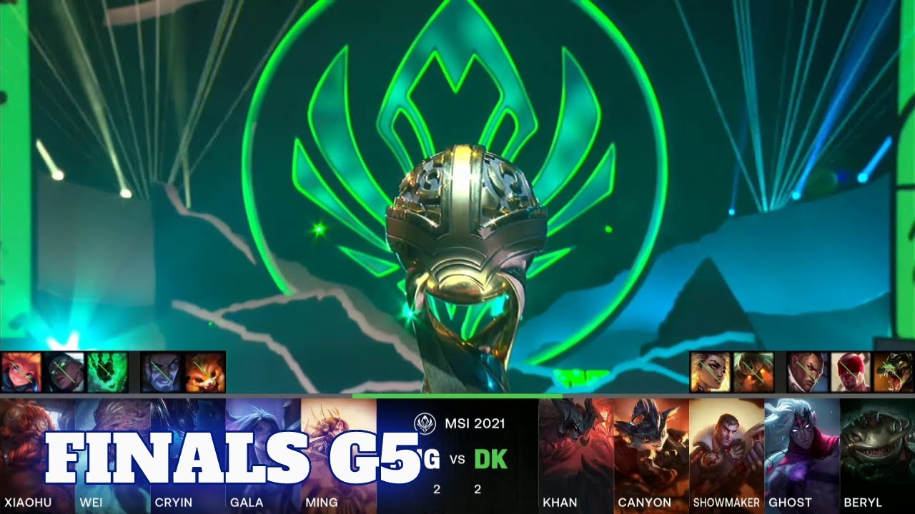 Download RNG vs DK - Game 5   Grand Finals LoL MSI 2021 Knockout Stage   Royal Never Give Up vs DAMWON Kia G5