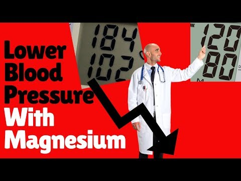 Lower Blood Pressure With Magnesium | Magnesium Benefits High Blood Pressure & The Heart | BP