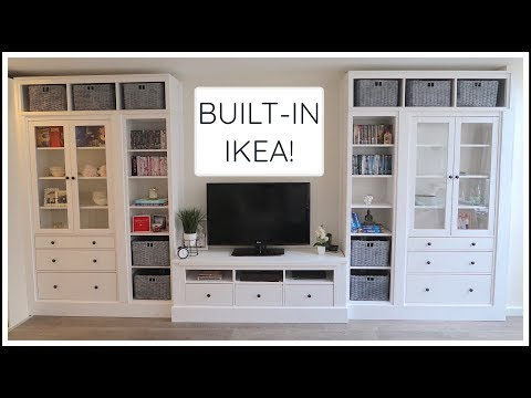 IKEA HEMNES BUILT-IN HACK! | CHRIS & EVE