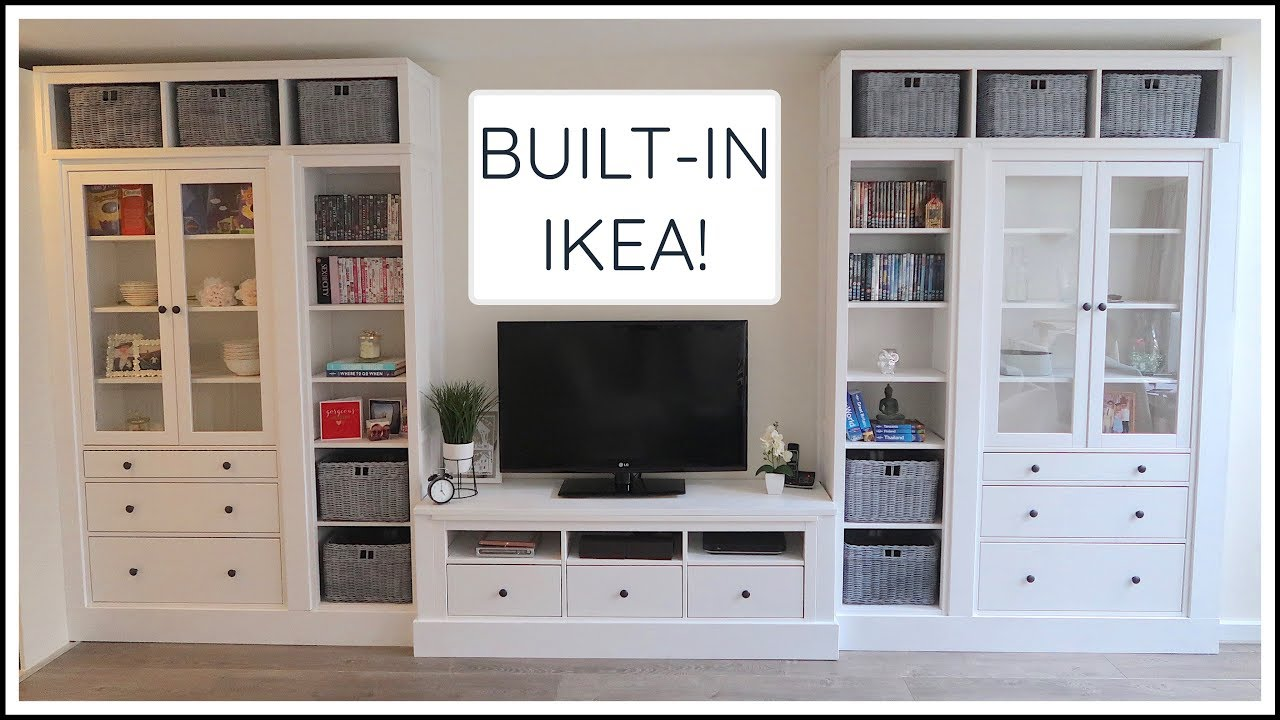 Ikea hemnes built in hack chris eve youtube