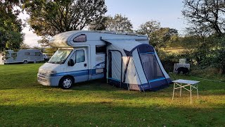 Ebury hill Shrewsbury camping & caravan club site