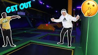 GETTING INTO SKYZONE WITHOUT PAYING! *THEY HAD NO IDEA*