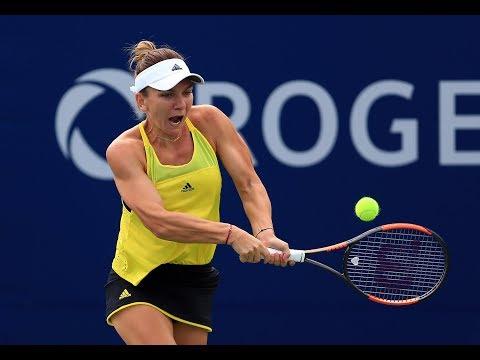2017 Rogers Cup Third Round   Simona Halep vs Barbara Strycova   WTA Highlights